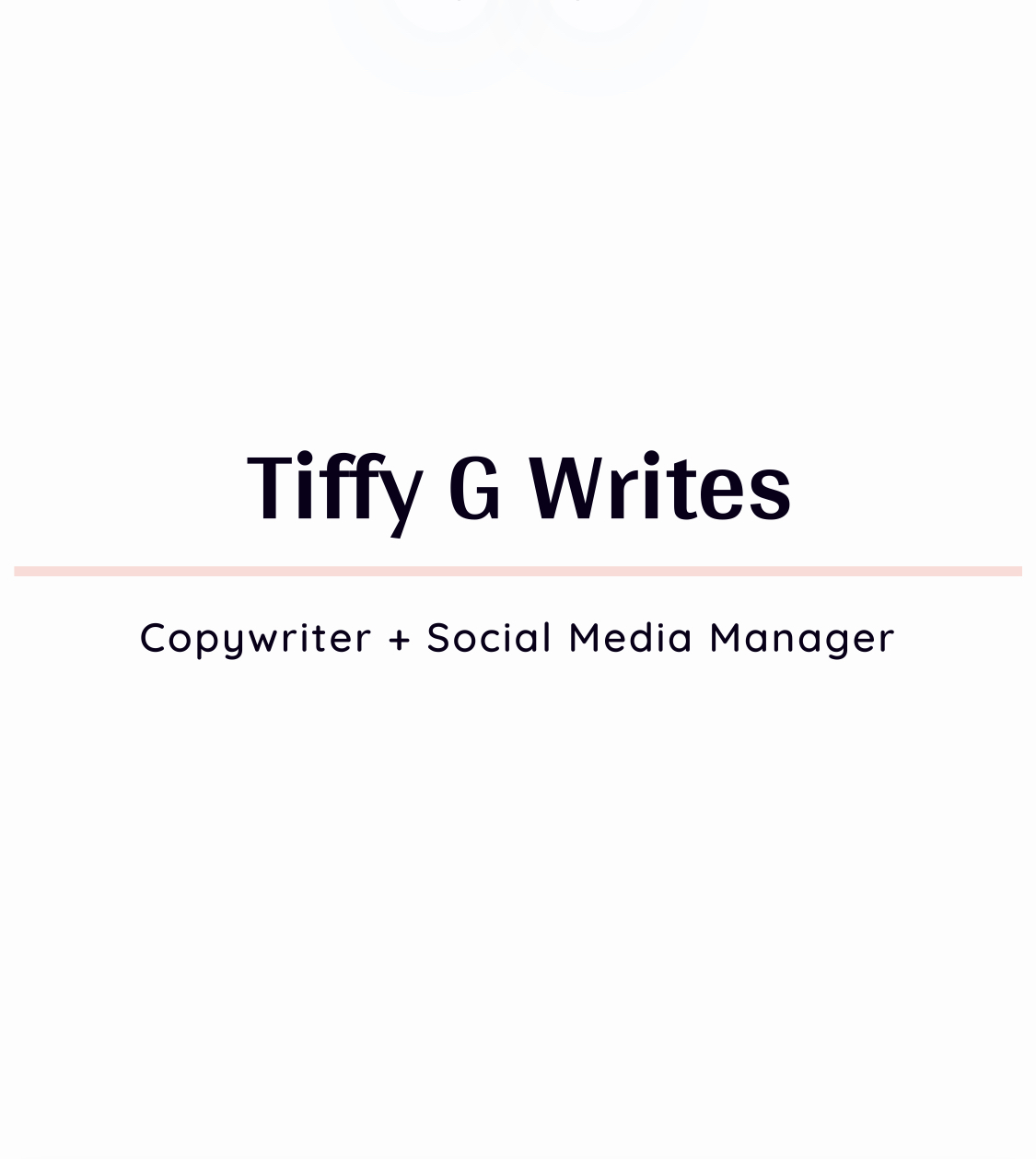 tiffy g writes black copywriter social media manager in columbus ohio freelance copywriter tiffany garside
